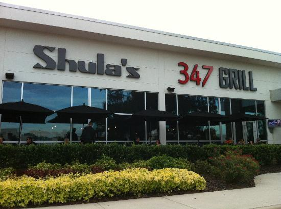 The Westin Lake Mary: Shula's Restaurant...attached