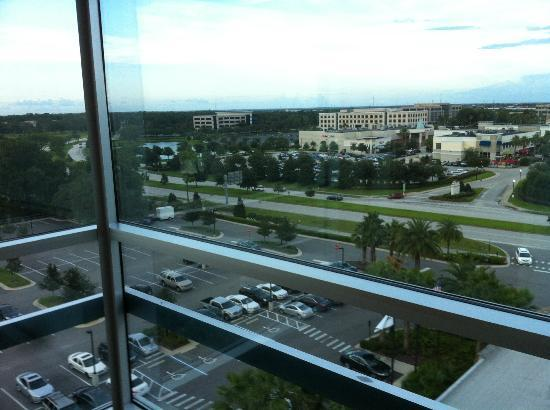 The Westin Lake Mary: View from our floor....AFTER we complained