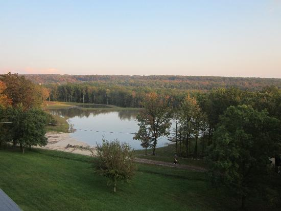 Mountain Laurel Resort & Spa : Balcony view