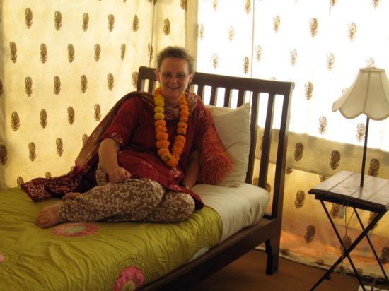 Abhaneri Village Safari Camp: The Tented Accommodation