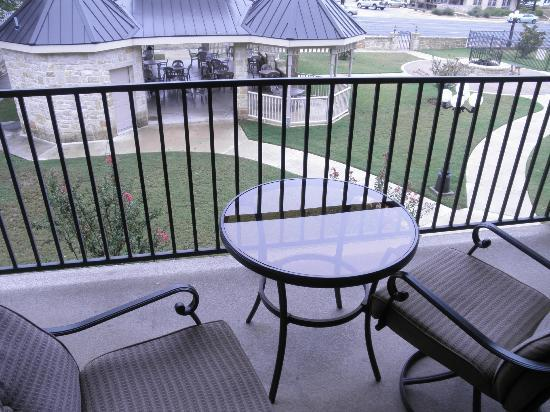 Hampton Inn & Suites Fredericksburg: Balcony