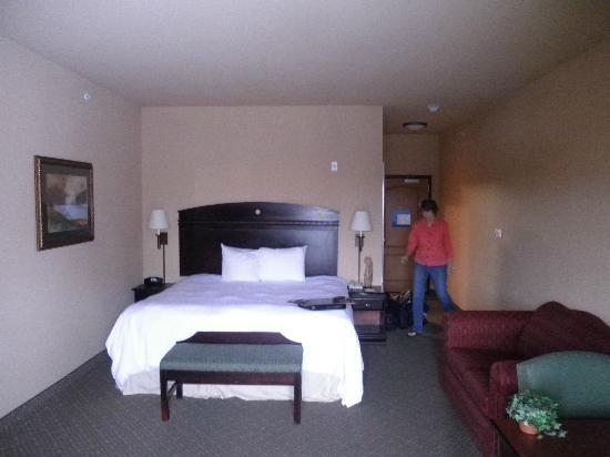 Hampton Inn & Suites Fredericksburg: Comfortable Bed