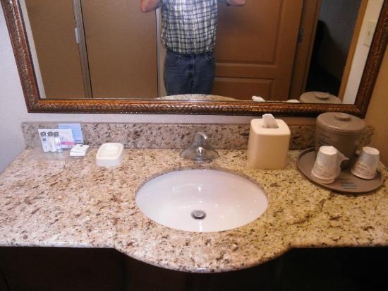 Hampton Inn & Suites Fredericksburg : Sink