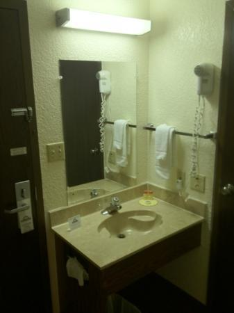 Days Inn by Wyndham Jasper: not a fan of the in room sink