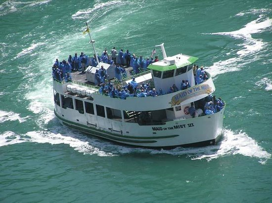 Queen Tour Niagara Falls Tours : Maid of the Mist Boat Ride