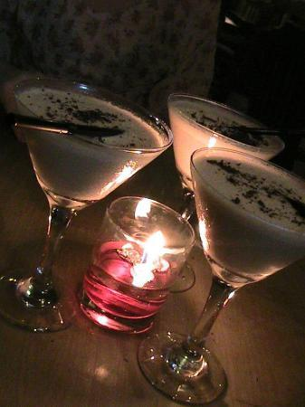 Taman Sari Cottages: promotional choc martini