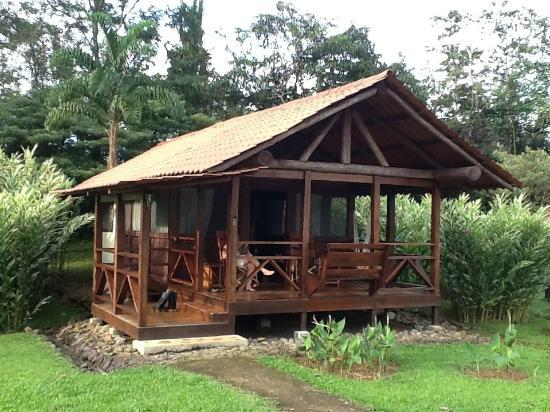 our cabin at Finca La Anita Rainforest Ranch