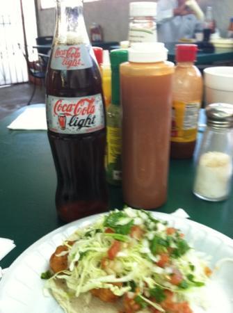Cocina La Ley: fish taco