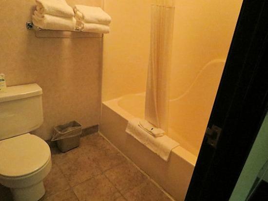 Beartooth Inn of Cody: Tub was clean