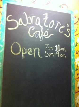 Salvatore's Cafe: welcome