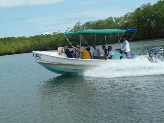 Sierpe, Costa Rica: embarcación