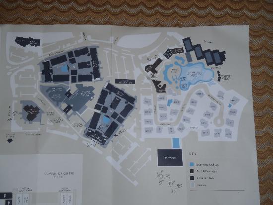 Pointe Hilton Squaw Peak Resort: Resort Map