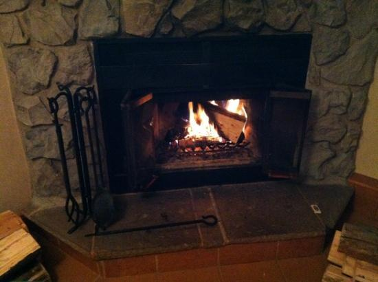 Hidden Ridge Resort: Perfect fire :)