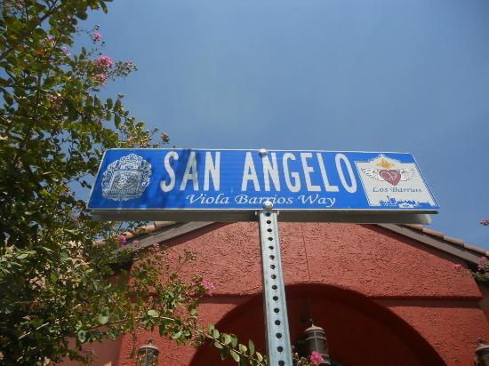 Los Barrios Mexican Restaurant : they even named a street after the founder!