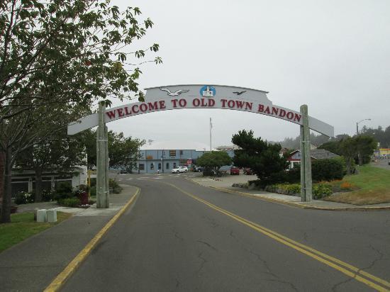 Bandon Beach Motel: Old Town Bandon