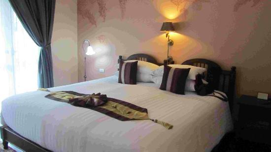 Ping Nakara Boutique Hotel & Spa: The comfy bed
