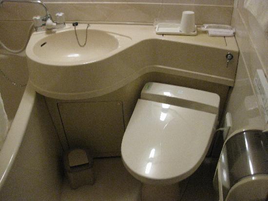 Hotel Maruji: トイレ