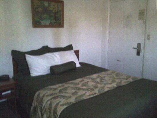 Oregon Motor Motel : queen bed