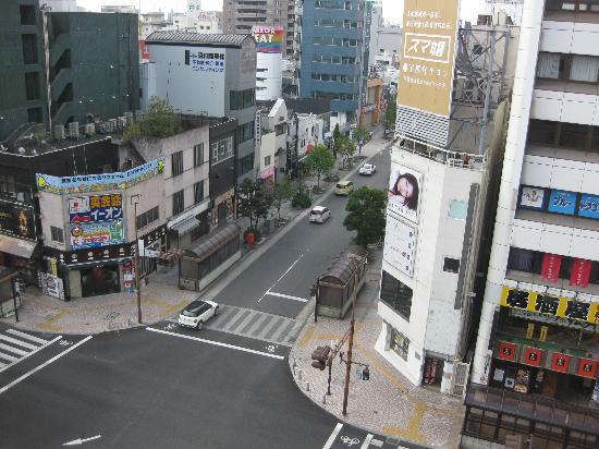 Hotel The Centre Utsunomiya: 部屋からの眺め