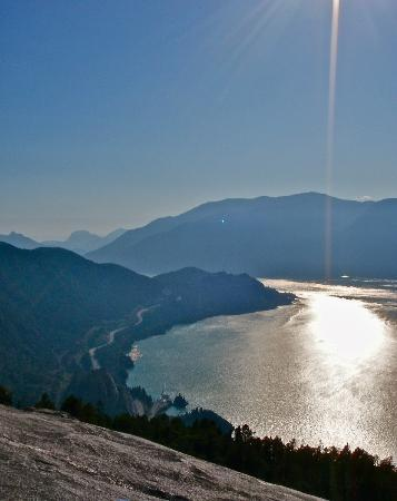 Squamish, Canada: view southwest