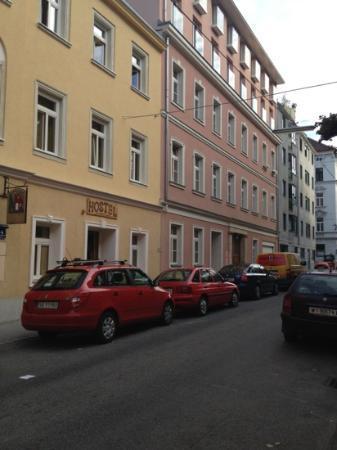 Hostel Ruthensteiner: the main building