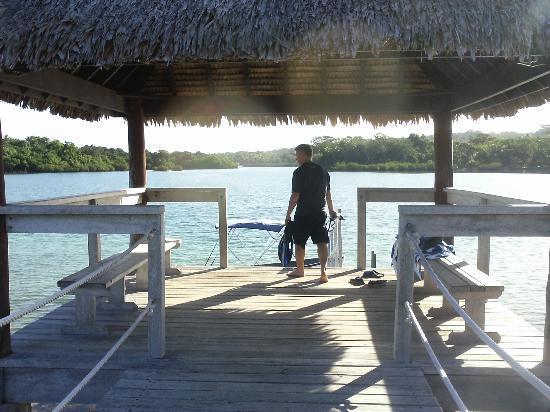 The Havannah, Vanuatu: Jetty - have dinner here
