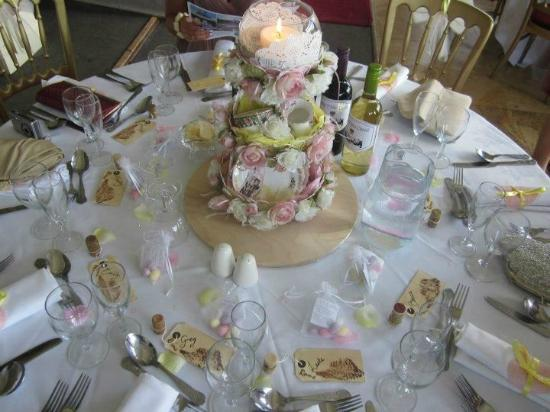 Craig-y-Nos Castle: Our Table Setting