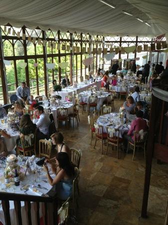 Craig-y-Nos Castle: the conservatory