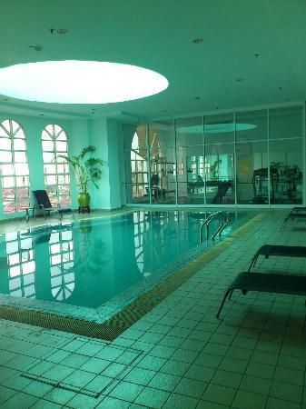 Cititel Penang: Fitness Centre, Level 3. Rather basic...