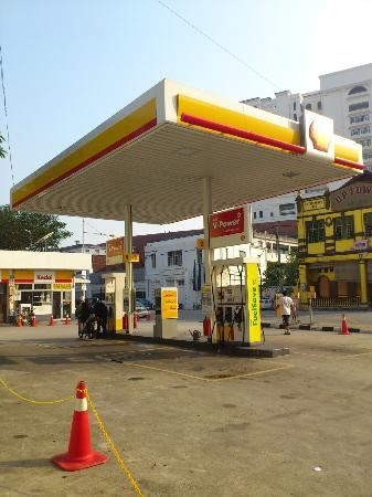 Cititel Penang: Just around 250m north of the hotel, there's a petrol kiosk...