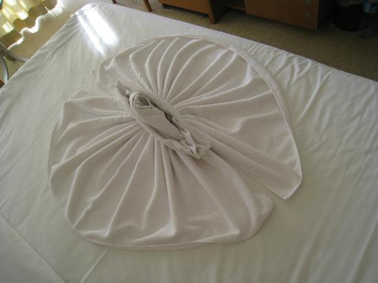 Korumar Hotel De Luxe: Towel Origami
