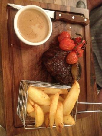8oz Fillet cooked to perfection