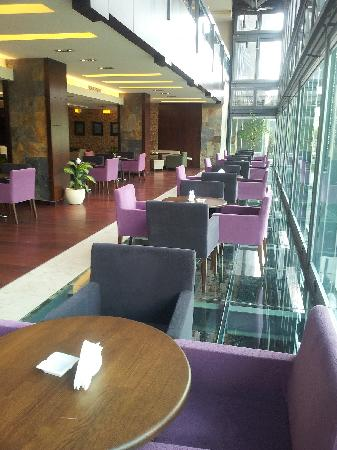 Canyon Hotel Erbil: Cafeterie