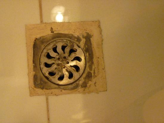 โรงแรมเวียงจันทน์ พลาซ่า: Dirty drain