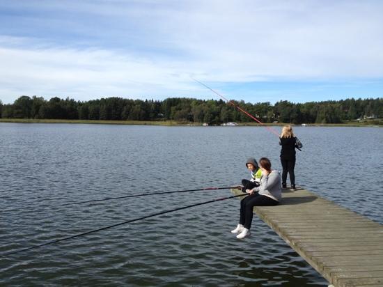 Marholmen: Fishing