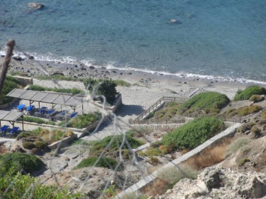 Robinson Club Daidalos: Blick zum Strand