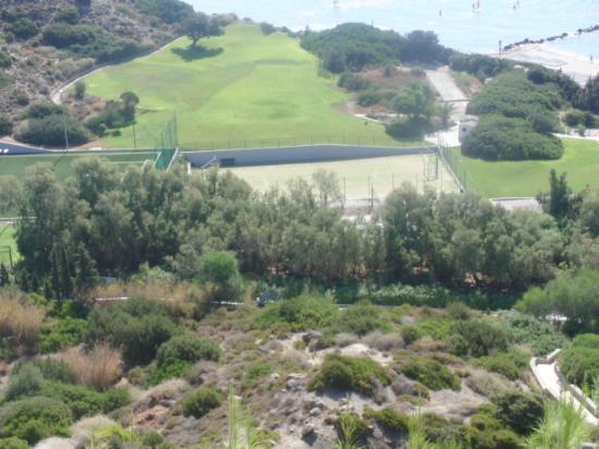 Robinson Club Daidalos: Neu angelegter Sportplatz