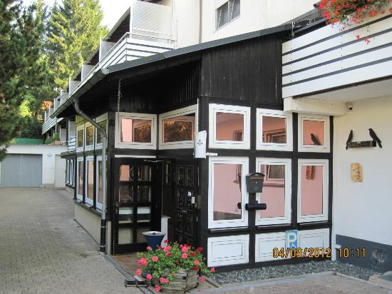 Hotel Hesborner Kuckuck: Ingang Hotel