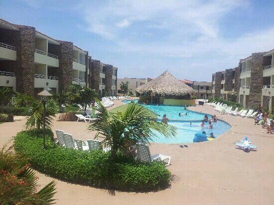 Hotel Kokobay: vista interna...