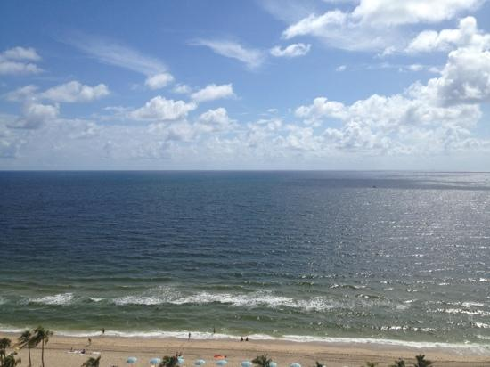 W Fort Lauderdale: view from balcony room 1233