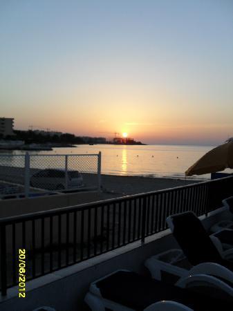Hotel Tagomago: Sunset