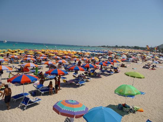 Spiaggia di San Vito lo Capo : Ma quanti siamo?!?
