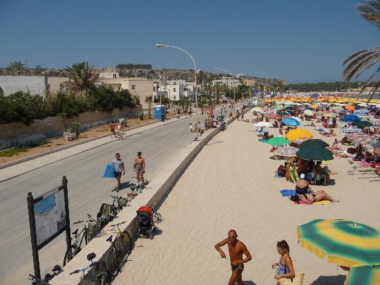 Spiaggia di San Vito lo Capo : Lungomare San Vito