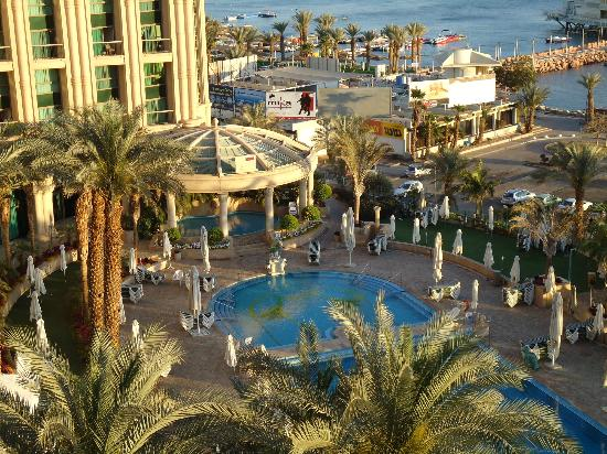 Hilton Eilat Queen of Sheba: Seaview room view