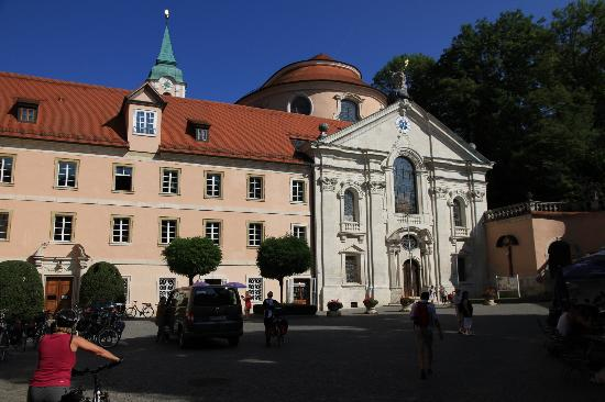 Klosterschenke Weltenburg: La chiesa del monastero