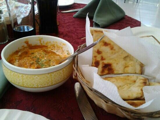 Arizona Grill: Indian menu...