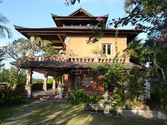 Mandala Desa: Aussenansicht Eingangsbereich/Rezeption