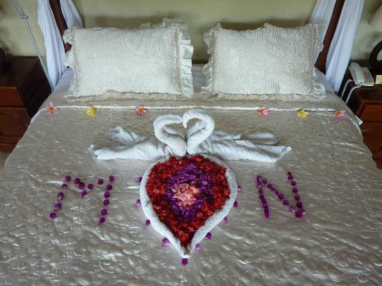 Mandala Desa: Honeymoon-Dekoration