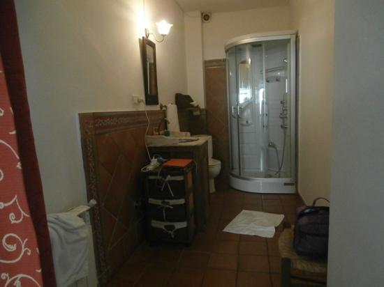 Hotel La Seguiriya: Bathroom