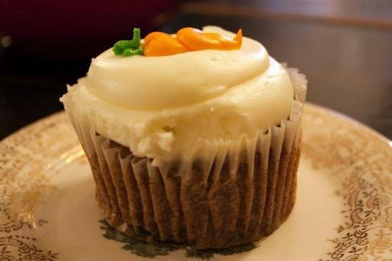 Alice's Tea Cup Chapter III : Cupcake de zanahoria